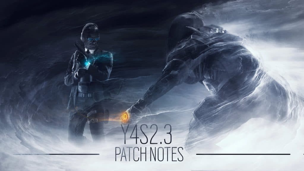 R6 - Patch Notes - Y4 S2.3