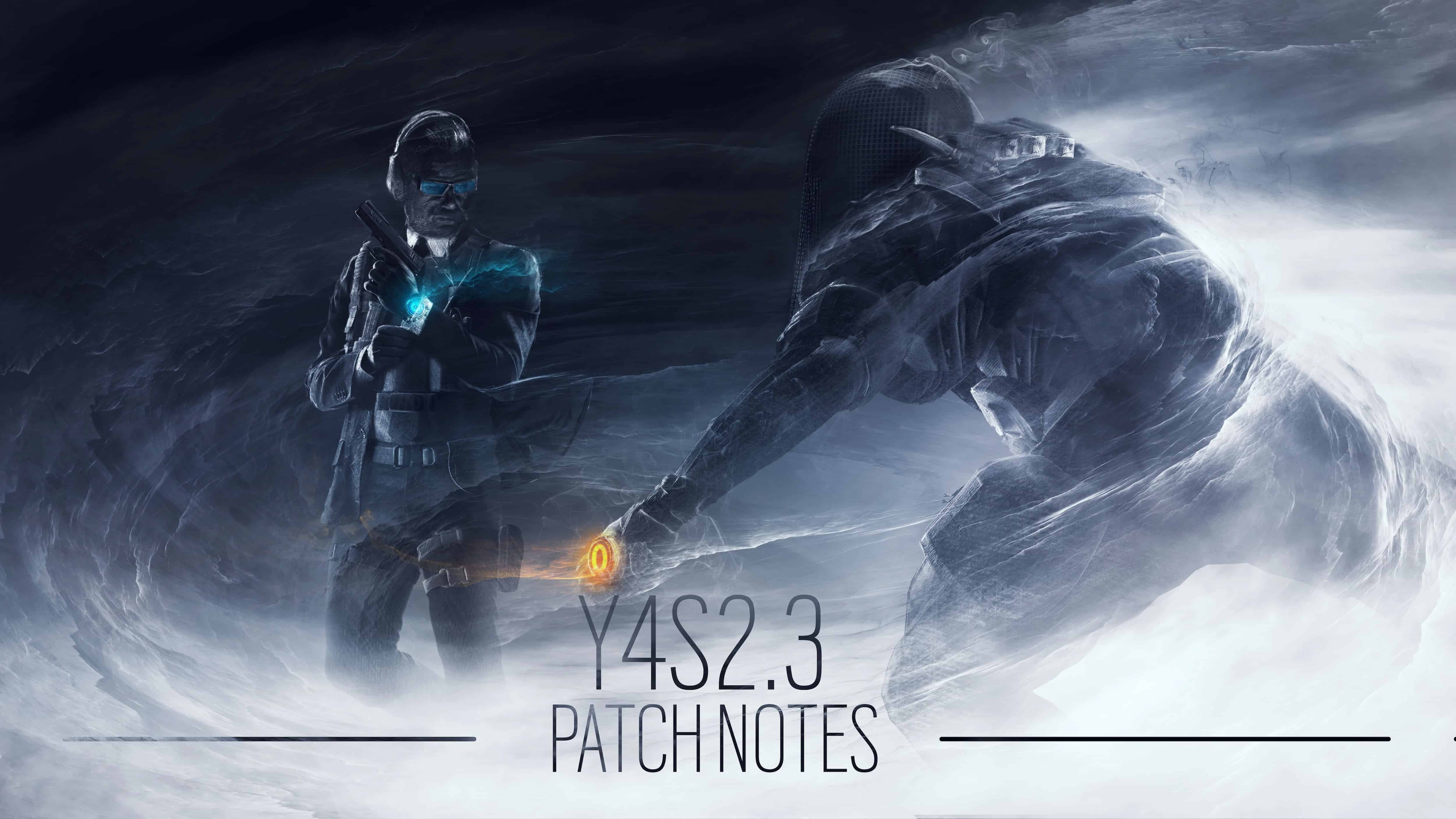 This picture is theofficial picture for the R6 - Patch Notes from 27.07.2019